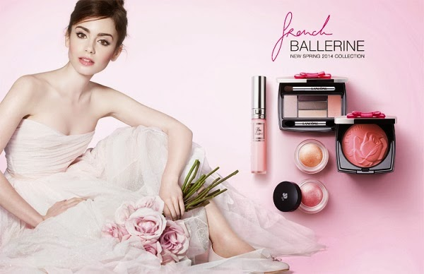 Lily-Collins-Lancome-French-Ballerine-Spring-2014-makeup-collection-2