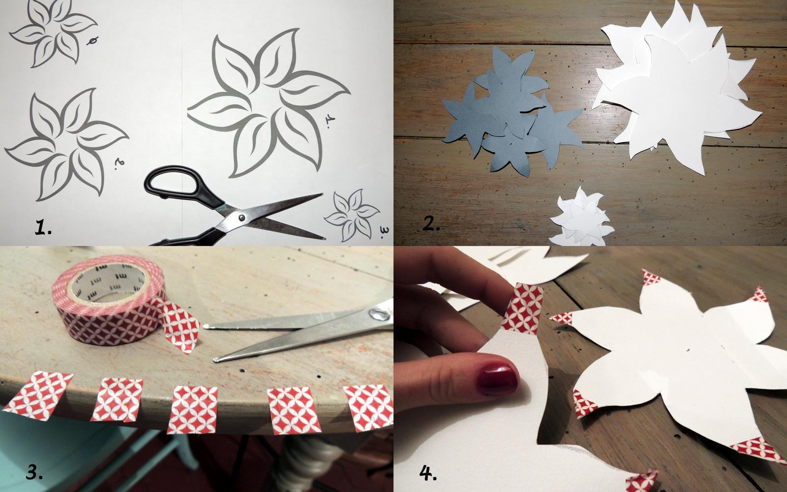 Diy d co de noel la cam d 39 emy for Decoration avec papier